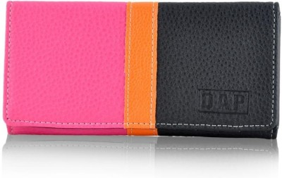 Daphne Women Black Artificial Leather Wallet