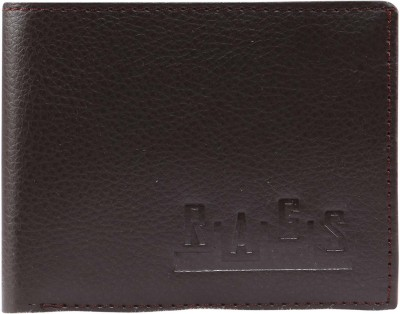 Rags Men, Boys Formal Brown Artificial Leather Wallet