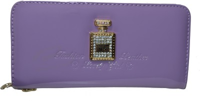Chetan Classics Women Casual Purple Artificial Leather Wallet