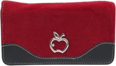 Laviva Women Red Artificial Leather Wallet