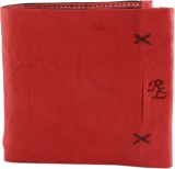 Walletsnbags Men Red Genuine Leather Wal...