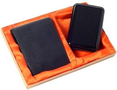 Moda Xclusive Men Black Genuine Leather Card Holder