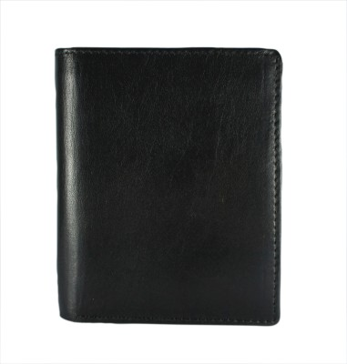 Arvee Men Formal Black Genuine Leather Wallet