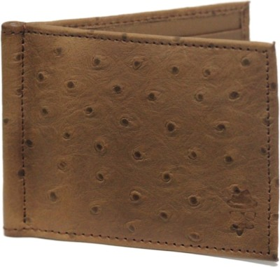 Mob Men Brown Genuine Leather Wallet