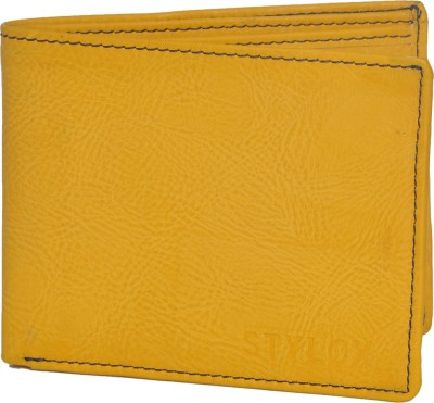 Stylox Men Yellow Artificial Leather Wallet