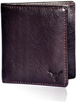 HIDEKRAFT Men Formal Brown Genuine Leather Wallet