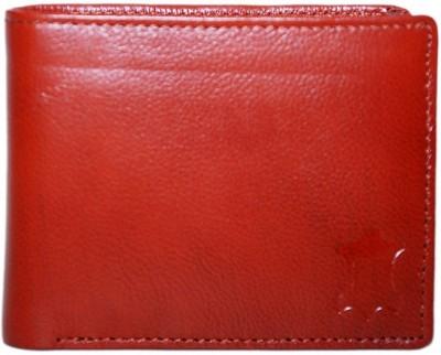 Leather Design Men Tan Genuine Leather Wallet