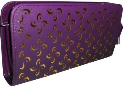Samco Fas Girls, Women Purple Canvas Wallet