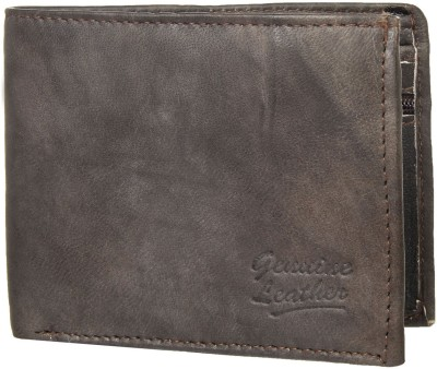 Zapon Men, Boys Ethnic, Travel, Evening/Party, Casual, Trendy, Formal Brown Genuine Leather Wallet