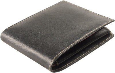 Imex International Men Black Genuine Leather Wallet