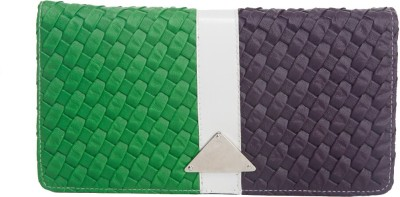 SkyWays Women Casual Multicolor Artificial Leather Wallet