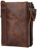 SPL Men Brown Genuine Leather Wallet (6 ...