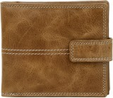 K London Men Brown Genuine Leather Walle...
