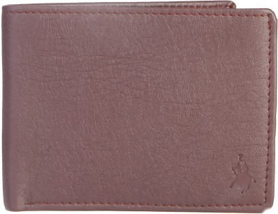 Royal County Of Berkshire Polo Club Men Brown Artificial Leather Wallet