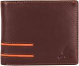 Hornbull Men Brown Genuine Leather Walle...