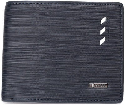Bogesi Men Blue Artificial Leather Wallet(7 Card Slots)