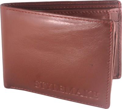 STYLEMAKE Men, Boys Multicolor Genuine Leather Wallet