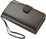 Baellerry Men Brown Genuine Leather Docu...