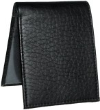 Bacchus Men Black Artificial Leather Wal...