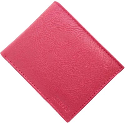 cotnis Men Red Artificial Leather Wallet