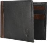 WildHorn Men Black Genuine Leather Walle...