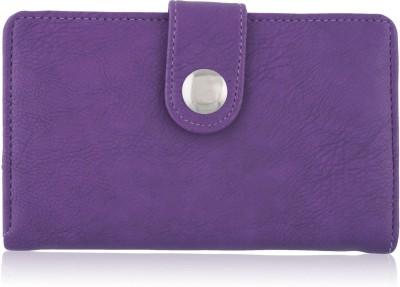 Fantosy Women Purple Artificial Leather Wallet