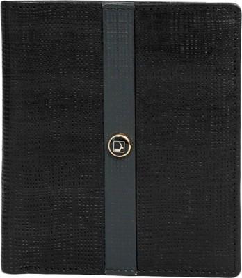 Da Milano Men Black Genuine Leather Wallet