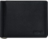 Rene Men Black Genuine Leather Wallet (6...
