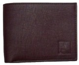 AARONIC Men Brown Genuine Leather Wallet...