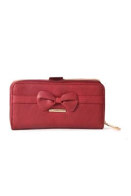 Diana Korr Women, Girls Red Artificial Leather Wallet