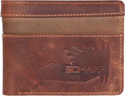 Scharf Men Multicolor Genuine Leather Wallet(9 Card Slots)