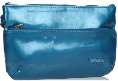 Peperone Women Blue Artificial Leather Wallet