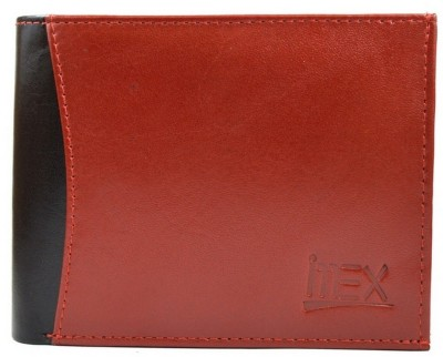 Imex International Men Maroon, Black Genuine Leather Wallet
