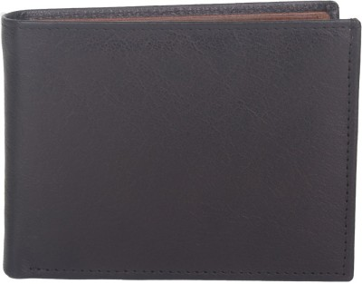 Chisel Men Black Genuine Leather Wallet(12 Card Slots)