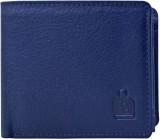 Le Craf Men Blue Genuine Leather Wallet ...