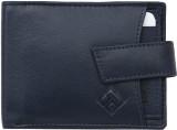 Giani Bernard Men Blue Genuine Leather W...