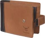 Hidelink Men Brown Genuine Leather Walle...