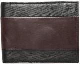 Park Avenue Men Brown Genuine Leather Wa...