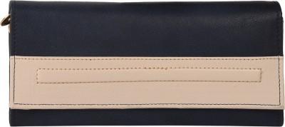 Lengloy Women, Girls Blue Artificial Leather Wallet