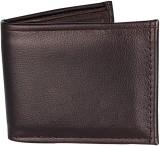 Mango People Men Brown Genuine Leather W...