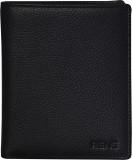 Rene Men Black Genuine Leather Wallet (7...