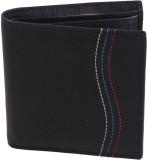 Kapi Men Black Genuine Leather Wallet (9...
