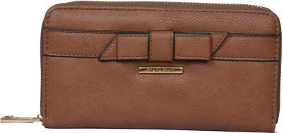 Diana Korr Women, Girls Casual, Formal Brown Artificial Leather Wallet