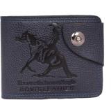 Sushito Men Purple Genuine Leather Walle...