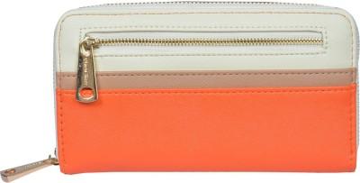 Diana Korr Women, Girls Casual, Formal Orange Artificial Leather Wallet