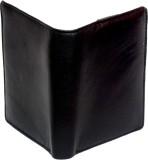 Ruff Men Black Genuine Leather Wallet (7...
