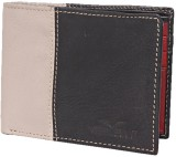 Vermello Men Black Genuine Leather Walle...