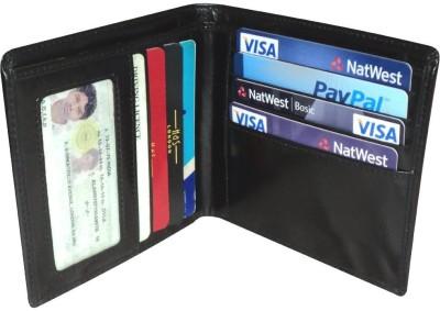 Hide & Sleek Men Casual, Formal Black Genuine Leather Wallet