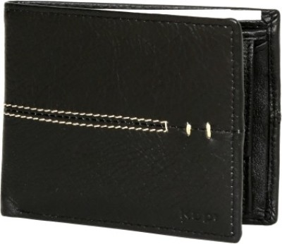 Kapi Men, Boys Black Genuine Leather Wallet
