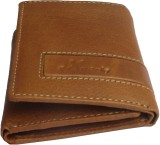 eXcorio Men Tan Genuine Leather Wallet (...